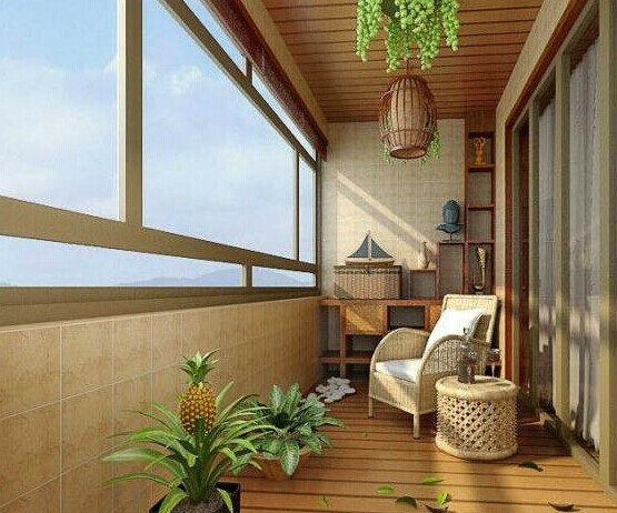 多想有个房子,有个阳台,多种阳台装修,你是不是想立刻