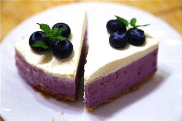 夏天的味道——蓝莓酸奶慕斯