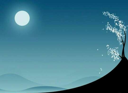 月缺时我想你,月圆时我念你,无论月圆月缺,我的心如