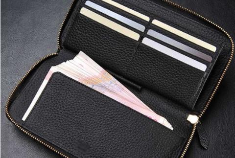 寻找-黑色长形钱包(身份证、银行卡等)