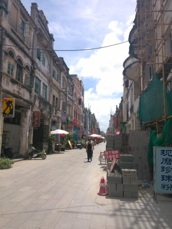 北海老街,珠海路,一百多年的历史,见证着近代史上,中国的屈辱史的一段