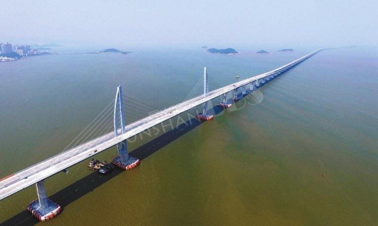 全球最长的大桥 长度达到164公里造价85亿美元