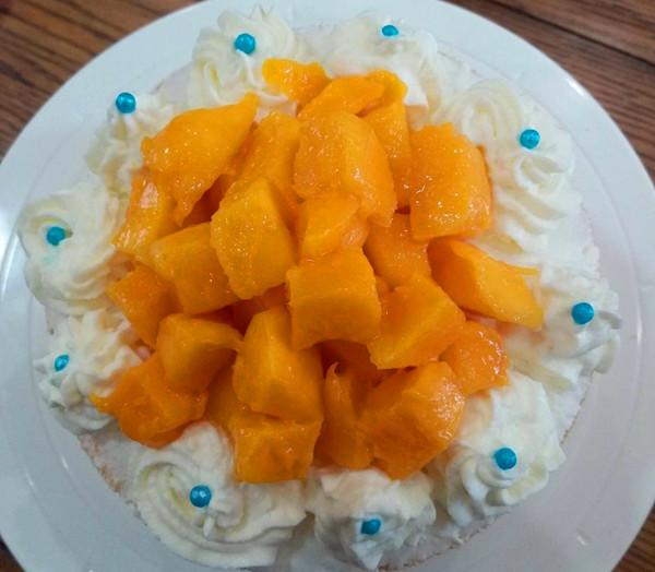 妈妈生日---自制裸蛋糕