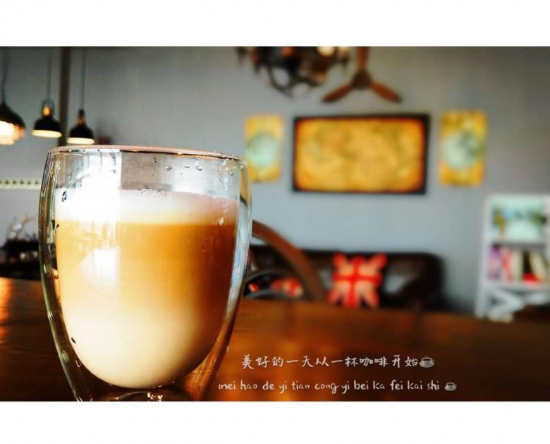 美好的一天从一杯咖啡开始