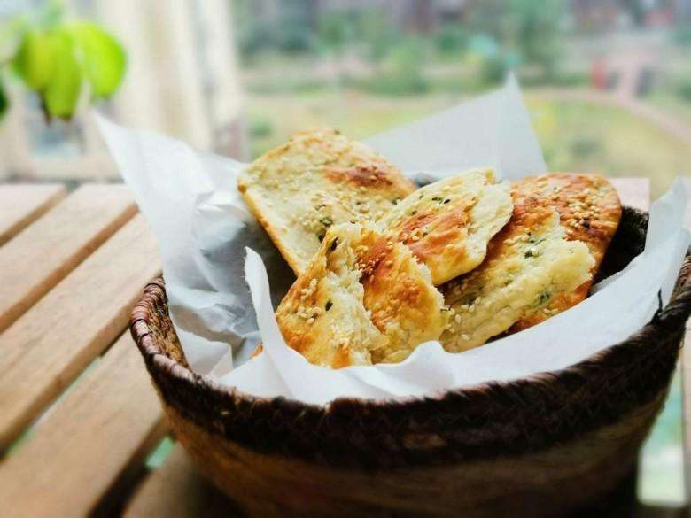 美好的一天从早餐开始——葱油饼