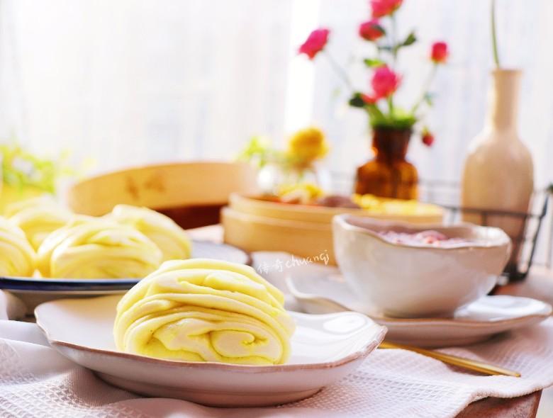 美好的一天从早餐开始——花卷