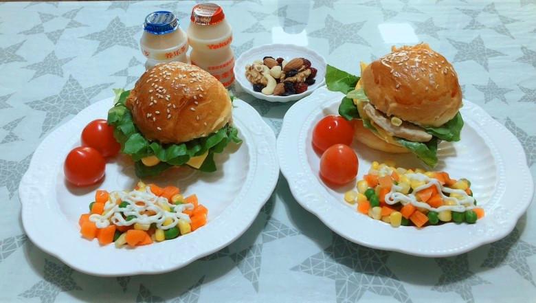 早餐和午餐