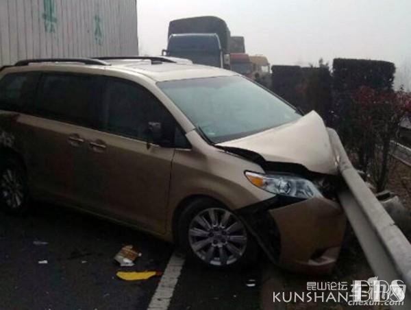 京台高速山东段120辆车连环追尾,已致7死35伤,惨烈的一塌糊涂 KBS车友会