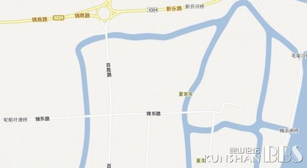 地图上找不到|kbs车友会 - 昆山
