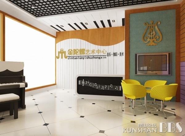 白金装饰实际案例 王龙 琴行装修效果图