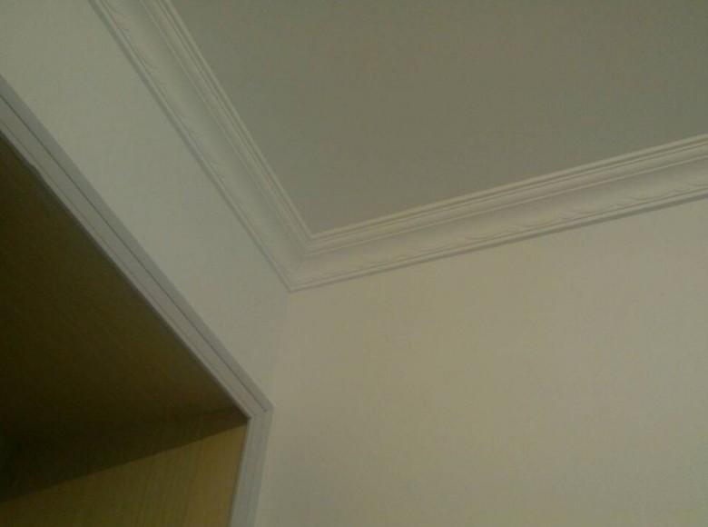 卧室艺术石膏线