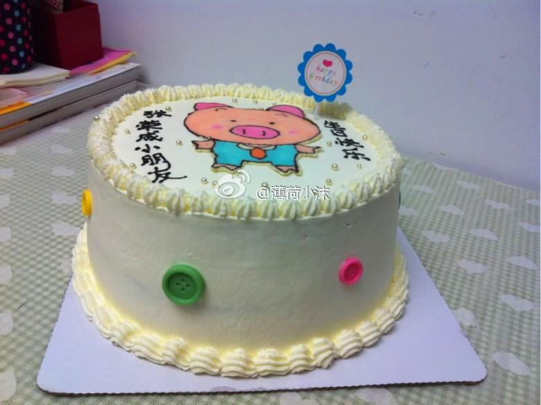 小猪猪蛋糕