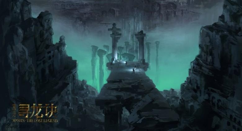 《寻龙诀》曝概念图 揭地下世界神秘面纱