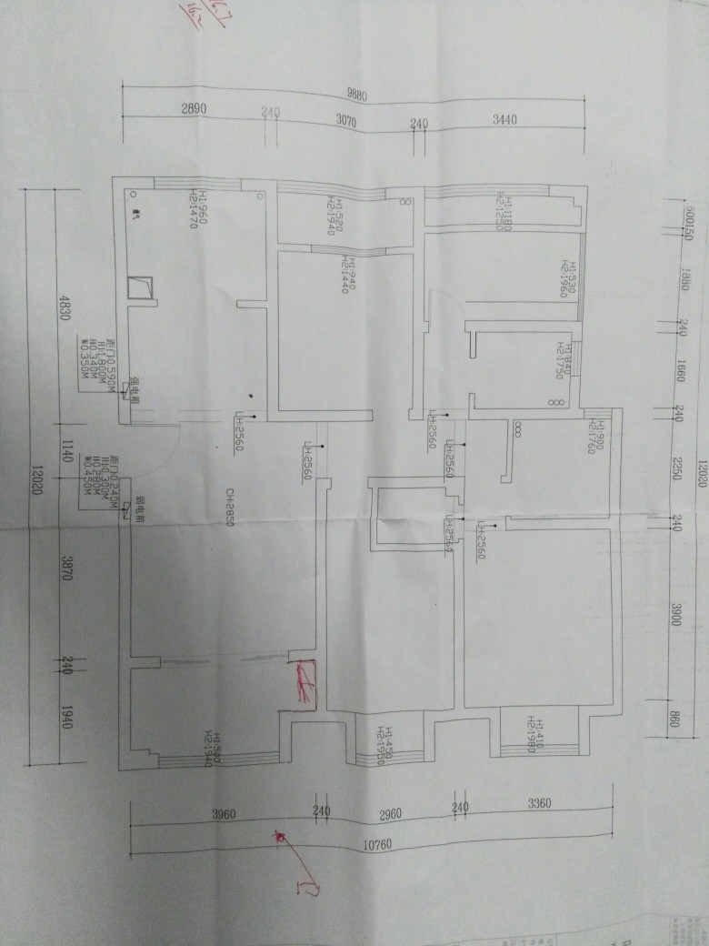 白鹭苑建筑平面设计图